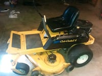 black and yellow Cub Cadet ride on mower Chicago, 60620