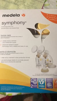 white and yellow Medela breast pump box Calgary, T3J 2V5