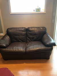 Brown sofa and love seat Calgary, T2Y 4H8