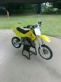 yellow and black motocross dirt bike LaRue, 75770
