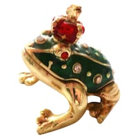 Prince Frog  Miniature Jeweled Trinket Jefferson, 70121