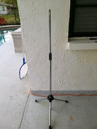 3 tripod mic stands $10 each. New Port Richey, 34653