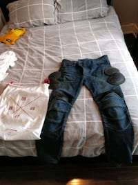 Ugly Bros Featherbed Motorcycle Jeans 34W Toronto, M6G 3T5