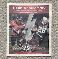 2006 Easton vs Phillipsburg 100th Football Game Newspaper Supplement Easton, 18042