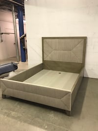 Two brand new queen beds with platform Paterson