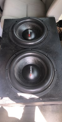 black and gray Pioneer subwoofer Port Barre, 70577