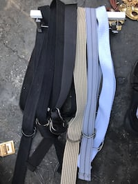 8 polyester belts $2 eA. Or take all for $10 Norwalk