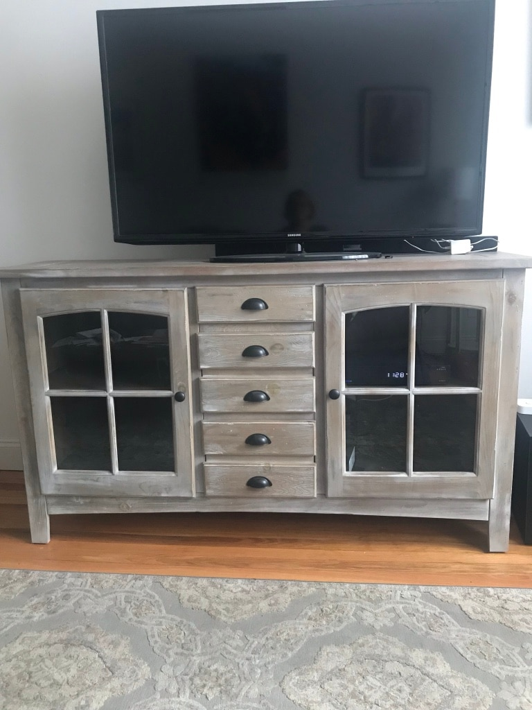 used wooden tv console for sale in new york letgo rh gb letgo com