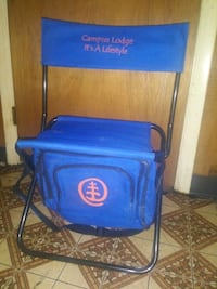 Camping/fishing chair with cooler and pockets Huntsville, 35805