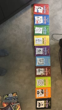 Diary of a Wimpy Kid Series 1-10 (Hard Cover)