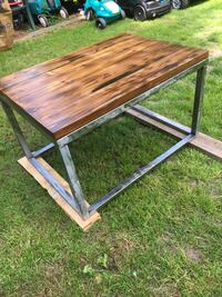 Hand crafted coffee table Delta, V4C