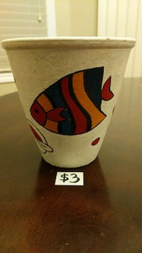 Hand-painted Clay Pot Mississauga, L5M 4S9