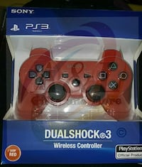 Brand New Red PS3 Controllers London, N5W 3P3
