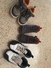 Three pairs of assorted shoes Rancho Cucamonga, 91739