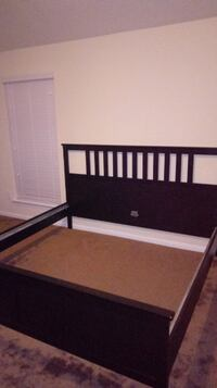 King size wooden Ikea bed Katy