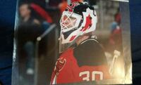 Martin Brodeur autographed New Jersey Devils photo
