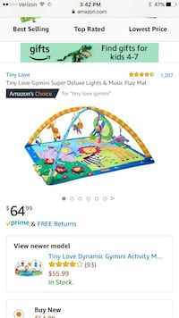 baby's multicolored activity gym Fort Myers, 33908