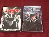 2 X-men movies $5 Hamilton west Mtn. Hamilton, L9C