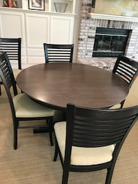 """Dining set - 48"""" table and 5 chairs Moraga, 94556"""