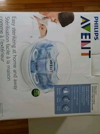white and blue Philips Avent breast pump box Fairfax, 22030
