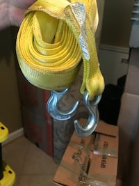 Heavy duty towing Straps with Hooks Vienna, 22182