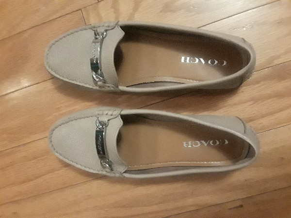 40c9768a121 Used Leather loafers (coach) for sale in Middleborough - letgo
