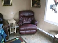 brown leather recliner sofa chair Decatur, 39327