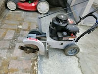Edger black and red push mower Bay Point, 94565