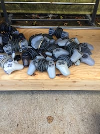 Sony playstation dualshock controller lot.