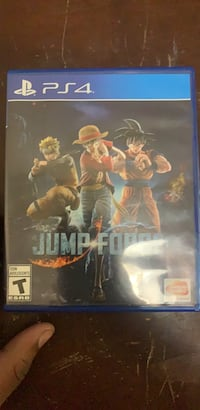 ps4 game   need gone jump force