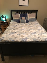 IKEA Full Size Bed including Mattress and Box Spring Davie, 33314