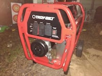 red and black portable generator Chesapeake, 23325