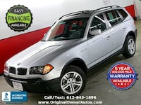 2004 BMW X3 3.0I AWD 70,000 miles Extra clean!Panoramic roof Eden Prairie, 55344