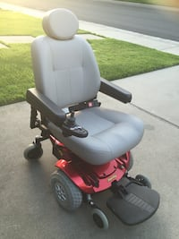 red and black motorized wheelchair Stockton, 95207