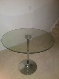 Brand New Round Glass Table