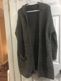 women's gray open cardigan St Catharines, L2R