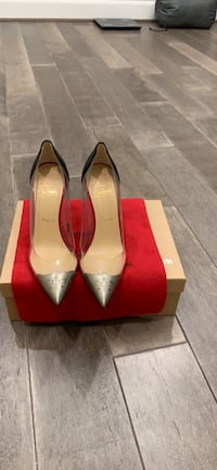 Christian Louboutin 100 mm heel size 38 very new