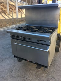 gray and black gas range oven Banning, 92220