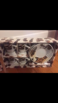 3 SETS OF ESPRESSO CUPS