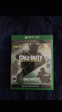 Call of Duty Infinite Warfare Xbox One game case Mesa