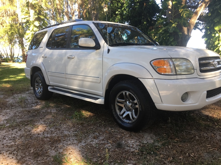 2003 toyota sequoia limited in kissimmee letgo. Black Bedroom Furniture Sets. Home Design Ideas