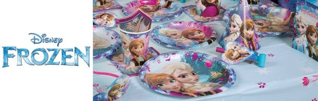 Frozen birthday deco decorations