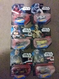 Star wars hot wheels from 2014.