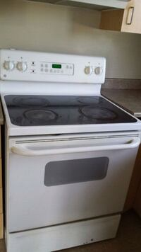 white and black induction range oven Gatineau
