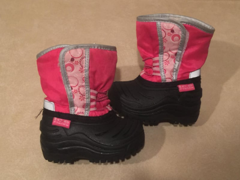 Toddler Size 4 Ice Fields Winter Boots b4987e9a-97cf-4c30-a198-741194015cb4