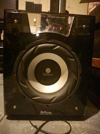 black and gray divinci subwoofer St. Catharines, L2W 1B5