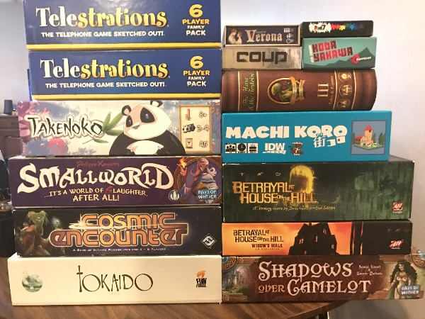 Lot of Board Games for 200$!!!
