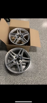 Mercedes AMG oem rims 18 inch (pair of 2 ) Toronto, M9L 2A5