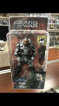 Jace Stratton , Gears of War ; 2010 Comic-Con Exclusive La Habra, 90631