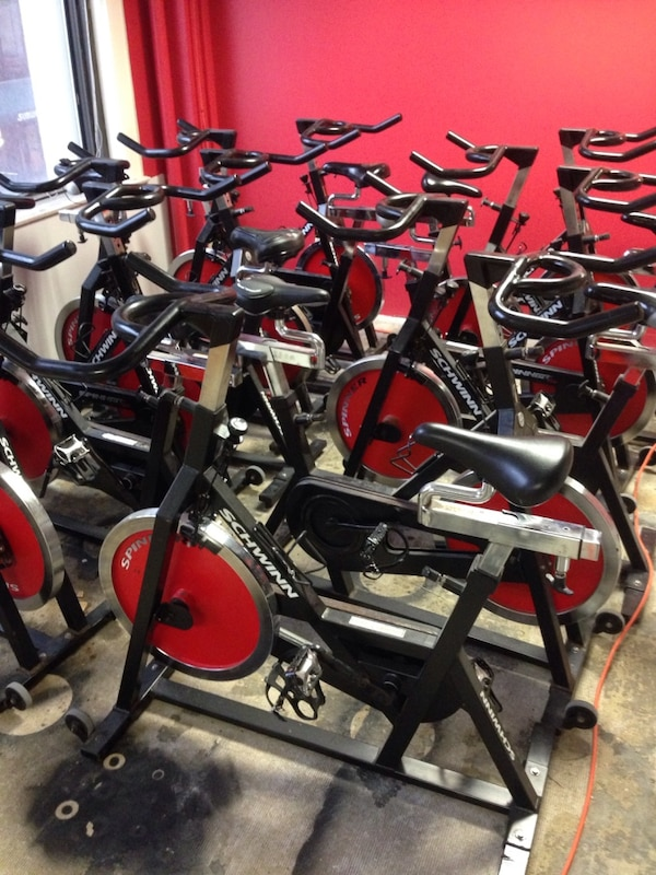 Spin Bikes For Sale >> Used Schwinn Spinner Elite Indoor Spin Bike Commercial Quality For